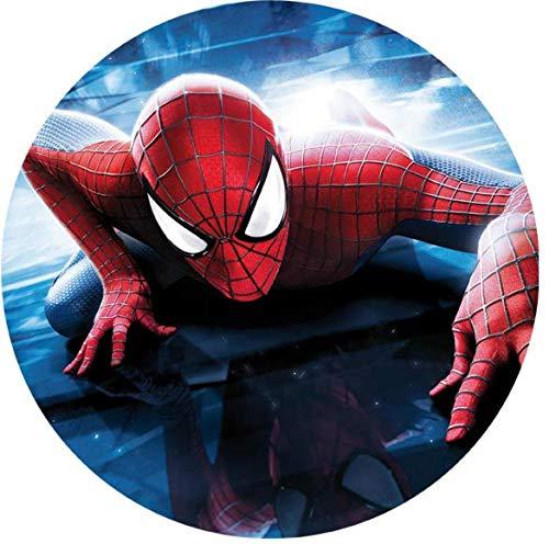 Tortenaufleger Spiderman 3 mit Wunschtext / Ø 20 cm / Lieferung 2 bis 5 Werktage