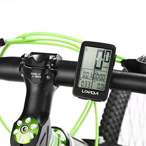 11de65fd2 ... Imagen de lixada velocímetro de bicicleta usb recargable  cuentakilómetros ciclocomputador accesorio para bicicleta alternativa