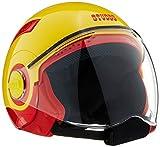 #7: Studds Nano Half Helmet (Red and Yellow, S)