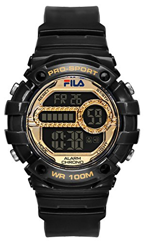 fila-unisex-quartz-watch-with-digital-quartz-099-black-filactive-black-gold-plastic