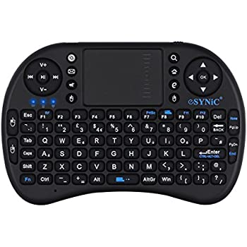 Esynic mini wireless keyboard 24g xbmc keyboard amazon esynic mini wireless keyboard 24g xbmc keyboard touchpad mouse combo multi media portable publicscrutiny Images