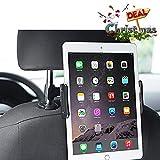 Supporto Tablet Auto, Meer Supporto Tablet Poggiatesta Auto Universale, Regolabili Dimensioni Diverse, Regolabile e 360 Gradi di Rotazione Porta Tablet Auto Sedili Posteriori per Phone/iPad Mini/2/3/4