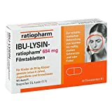IBU-LYSIN-ratiopharm 684mg 10 stk