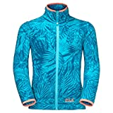 Jack Wolfskin Girls Jungle Fleece Jacke 8 Jahre Lake Blue All Over