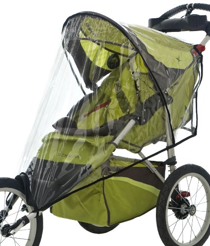 InSTEP 25-SA067 Fixed Wheel Jogger Single Stroller Weather Shield