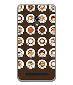 Fuson Designer Back Case Cover for Asus Zenfone 6 A600CG (Different Designs Hot Young Couple Enjoy Girls)