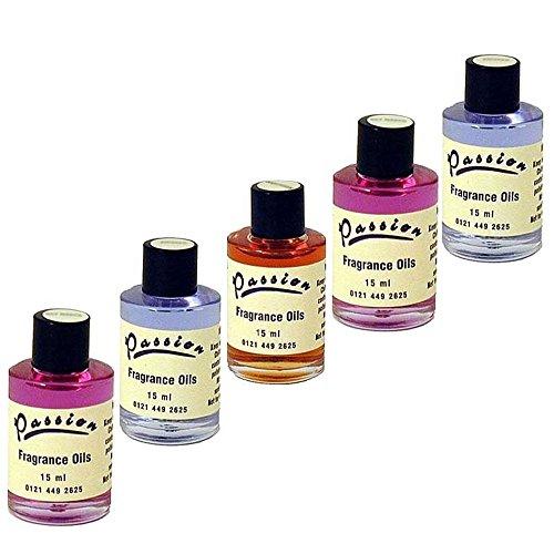 5 Duftöle (Inhalt jeweils 15ml) aus unserem Sortiment (selbst wählen oder zusammenstellen lassen) (5 Öle selbst aussuchen) -