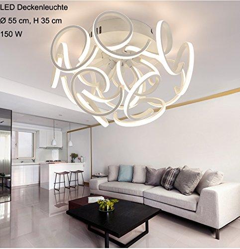 LED Deckenleuchte XW036-12 mit Fernbedienung Lichtfarbe/helligkeit einstellbar A+ (XW036-12)