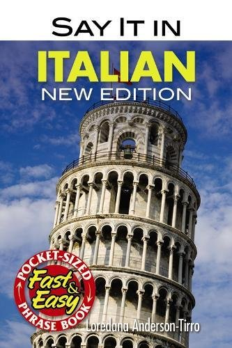 Say It In Italian (Dover Language Guides Say It Series)