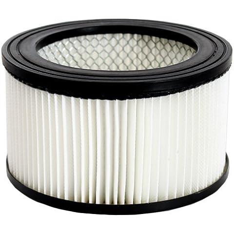 TecTake Filtri di ricambio filtro BIDONE ASPIRA CENERE