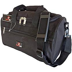 Kleine Reisetasche - Ryanair Zweites Handgepäck Tasche - Exakte Größe 35 x 20 x 20 cm - Schwarze Kabinentasche Bordgepäck - Ultra Leichte 0,4 Kg - BLINDER PASSAGIER Handgepäcktasche für Ryan Air RL59K