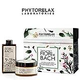 Idee Geschenk Bad Entspannende Dusche 250ml + Creme Körper Massage Entspannende 300ml Blumen von Bach–Phytorelax