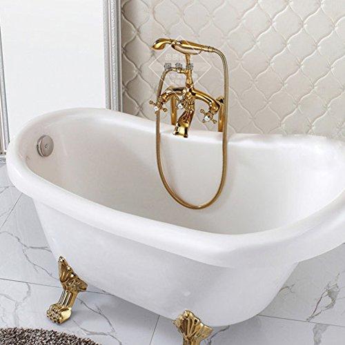 Bagno free-standing chaise longue rubinetto vasca da bagno/doccia rubinetto/docce europee antiche vasche da bagno-d