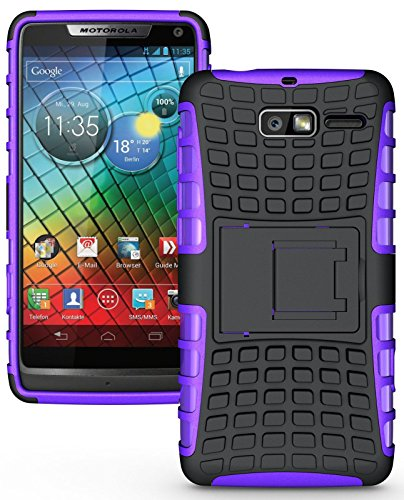 Heartly Armor Motorola Droid Razr M Purple