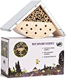 Bienenhaus Schönes Insektenhotel für den Garten Umweltfreundlich Wetterresistent Geschenkbox