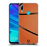 Head Case Designs Basketball Ball Kollektion Soft Gel Huelle kompatibel mit Huawei P Smart (2019)