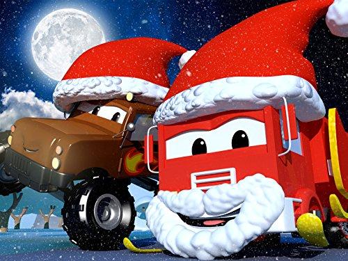 【Weihnachten】Rocky die Rakete/Schlitten des Weihnachtsmanns/Katie das Kitcars Rennen gegen die Zeit! / Suzy das kleine rosa Auto