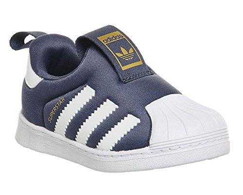 Adidas - Adidas Superstar 360 I Chaussures de Sport Enfant Slip On Bleu