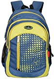 #8: Cosmus Maxmoon Polyester 38 Litre Navy Blue Large School Bag