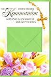 Kommunion Grußkarte Geldgeschenk Karte Zur ersten heiligen Kommunion Herzliche Glückwünsche...