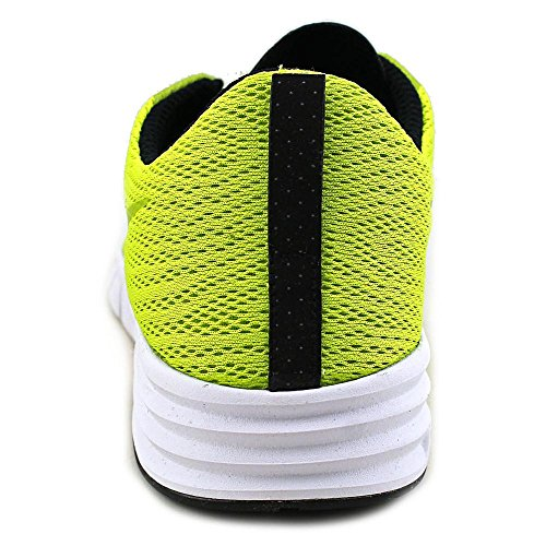 Nike NIKE SB LUNAR PAUL RODRIGUEZ 9, Sneakers basses mixte adulte Multicolore - Amarillo / Blanco / Negro (Cyber / Black-White)