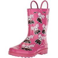 Adtec Unisex-Kids CI-4002 Rain Boot, Pink, 2 Medium US Little Kid
