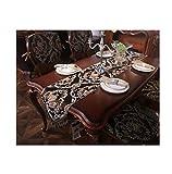 MWJ- Table Flag Tischfahne - Tischdecke, Heimtextilien Aus Stoff, Chinesischer Stil, TV-Schrank Couchtisch Tischdecke Einfache, Moderne Minimalistische Mode Tischdecke (größe : 35x180cm)