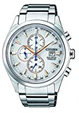 Citizen Herren Chronograph Solar Uhr mit Titan Armband CA0650-82B