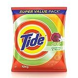 Tide Plus Detergent Powder - 6 kg (Jasmi...