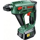 Bosch DIY Uneo Maxx Akku-Bohrhammer inkl. Koffer + Akku 2.0Ah + Zubehör (0603952308)