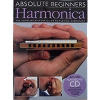 Principiantes absolutos para armónica de libro con C.D