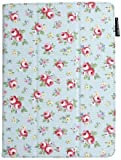 Lente Designs® Google Nexus 9 folio cover case in 'Pink Roses' design