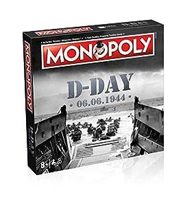 Winning Moves - Monopoly D-Day 0462, versión bilingüe francés e inglés
