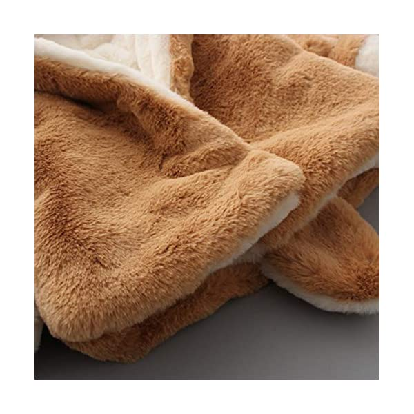 Borlai Chaqueta cálida para bebés de 0 a 5 años con capucha para invierno 4