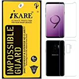 Sajni Creations Ikare Impossible Samsung S9 Front And Back Screen Guard , Strong Plastic Fibre Flexible Impossible Tempered Screen Guard Protector For Samsung Galaxy S9 - Transparent