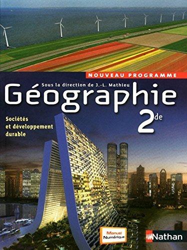 Géographie 2de - J.-L. Mathieu by Viviane Bories (2010-08-05)