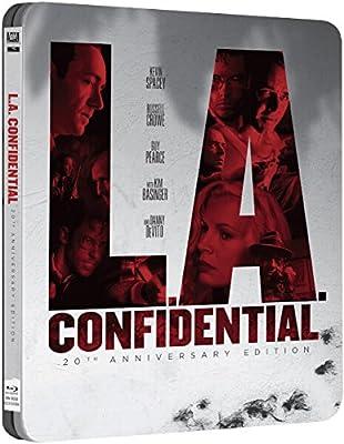 L.A. Confidential (1997) - Zavvi Exclusive Limited Edition Steelbook (UK Import ohne dt. Ton) Blu-ray, Uncut, Regionfree