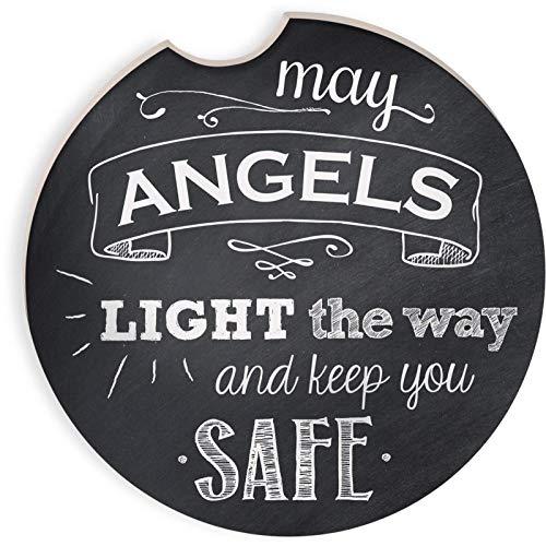 Angelstar 13465kann Angels Licht der Weg, Auto Untersetzer, Multicolor -