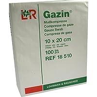 GAZIN Mullkomp.10x20 cm unsteril 12fach Op 100 St Kompressen preisvergleich bei billige-tabletten.eu