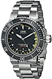 Oris Aquis Depth Gauge Men's 49mm Automatic Sapphire Date Watch 73376754154MB