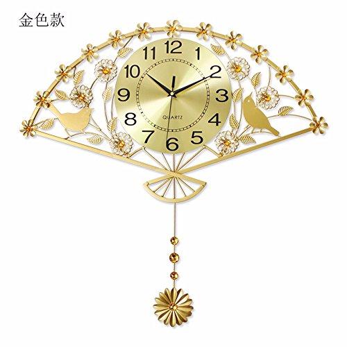 Y-aime.orologio moderno da parete moderno semplice personalità creative muto orologio di oscillazione del ventilatore,una (20 pollici)