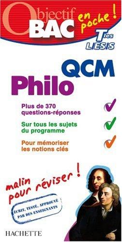QCM Philo Tles L/ES/S