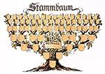 """Schmuckbild """"Stammbaum"""": Kunstdruck-A..."""