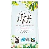 Mezcla de temporada de tostado medio de Bird & Wild, ONG Sociedad Real para la Protección de Animales (RSPB), café de comercio justo orgánico cultivado a la sombra y amigable con las aves, café de gr