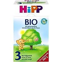Hipp Bio 3 Folgemilch - ab dem 10. Monat, 2er Pack (2 x 800g)
