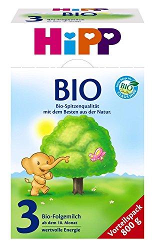 HiPP 3 Folgemilch, 4er Pack (4 x 800g) - Bio