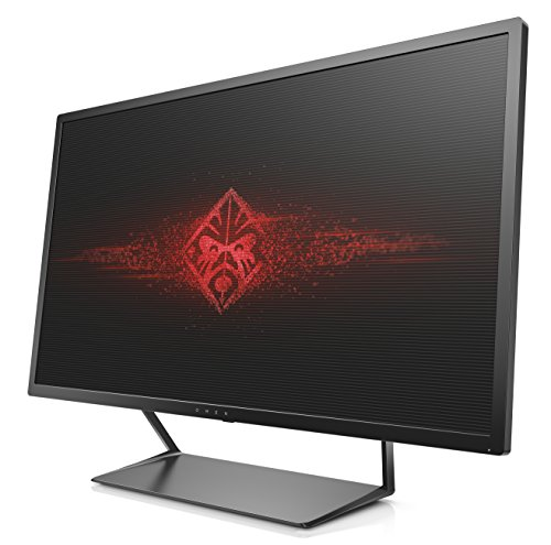 Omen by HP 32 inch Gaming Monitor AMD FreeSync 2560 x 1440 Pixel Quad HD QHD 5 ms 75 Hz Refresh Rate Black Monitors