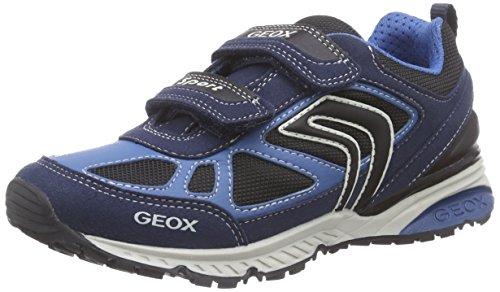 Geox Bernie A, Baskets Basses Garçon Bleu (C4264)