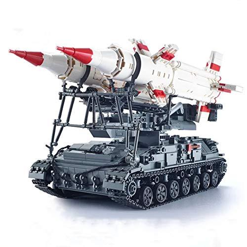 Yyz Dongfeng Atomwaffen-Raketen-Fahrzeug Militär-Serie schwierige kleine Partikel zusammengebaut Blöcke Geburtstagsgeschenk -