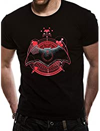 Official Licensed Merchandise DC Comics Justice League Movie Batman Symbol Unisex T-Shirt Tee